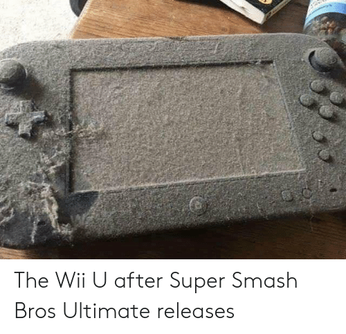 super smash bros: The Wii U after Super Smash Bros Ultimate releases