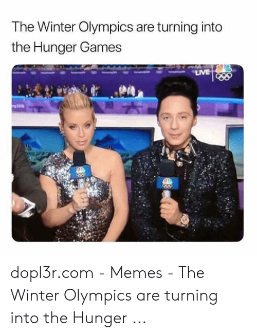 Hunger Games Meme: The Winter Olympics are turning into  the Hunger Games  LIVE dopl3r.com - Memes - The Winter Olympics are turning into the Hunger ...