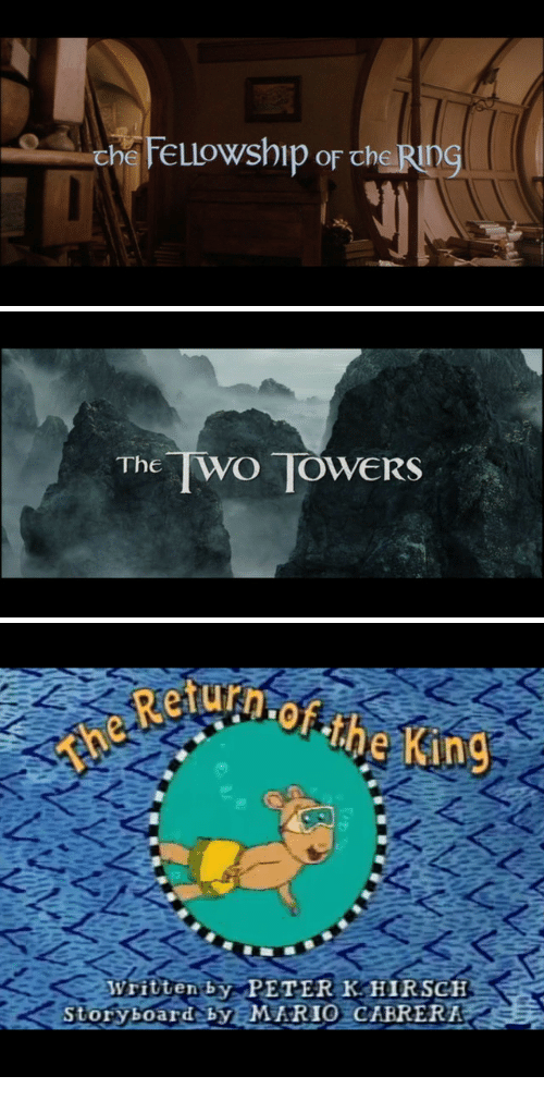 Rio, King, and Storyboard: The WO TOWERs   Reu  of the King  Written by PETER K HIRSCH  storyboard-SS (IM RIO İCABRERI