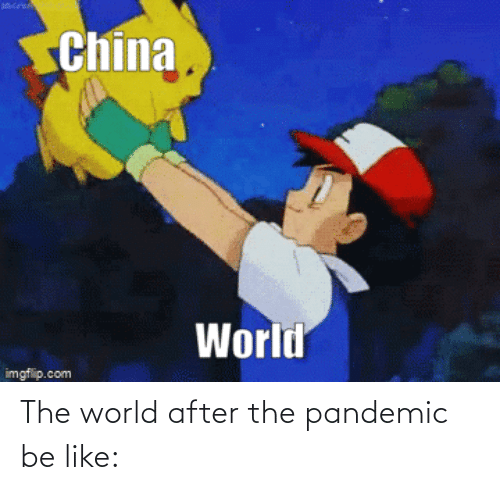 After The: The world after the pandemic be like: