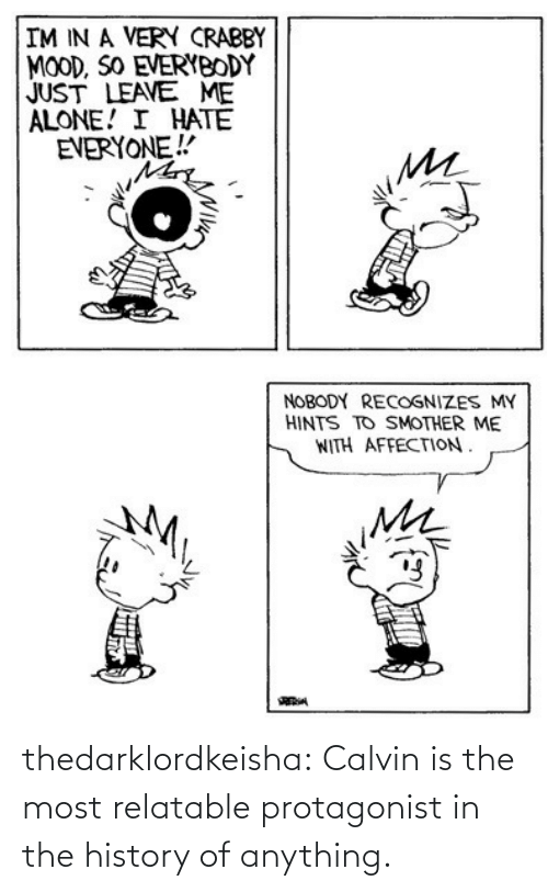 History: thedarklordkeisha: Calvin is the most relatable protagonist in the history of anything.