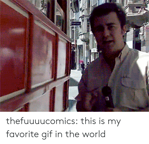 Favorite Gif: thefuuuucomics:  this is my favorite gif in the world