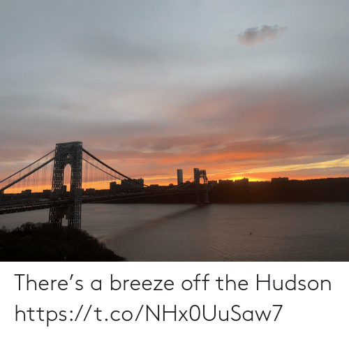 🤖: There's a breeze off the Hudson https://t.co/NHx0UuSaw7