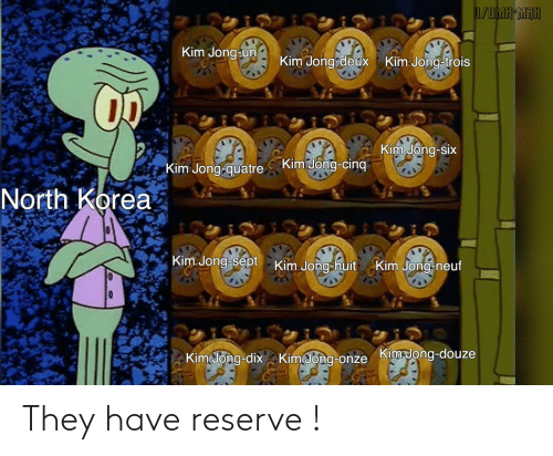 They Have: They have reserve !
