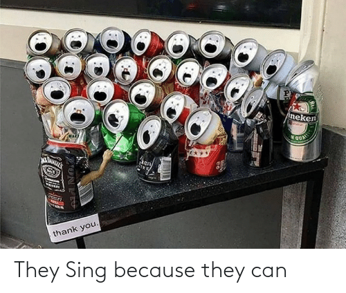 because: They Sing because they can