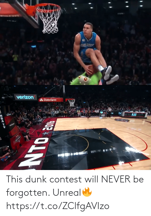 Will Never: This dunk contest will NEVER be forgotten. Unreal🔥 https://t.co/ZClfgAVIzo