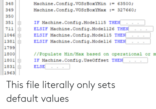 values: This file literally only sets default values