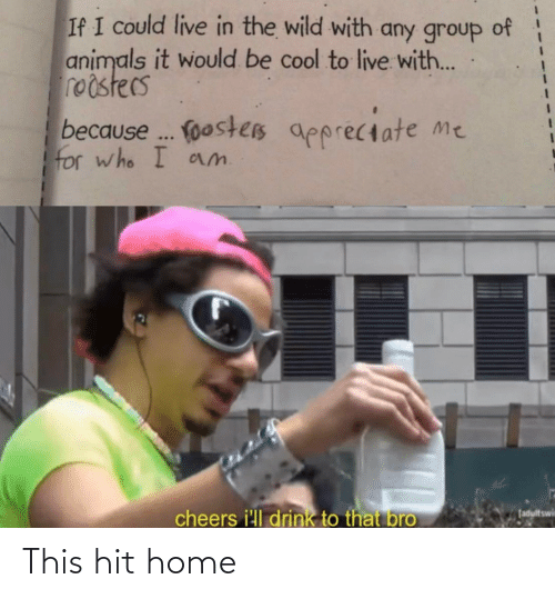 hit: This hit home