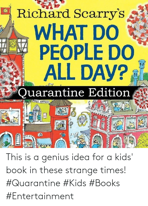 This Is A: This is a genius idea for a kids' book in these strange times! #Quarantine #Kids #Books #Entertainment