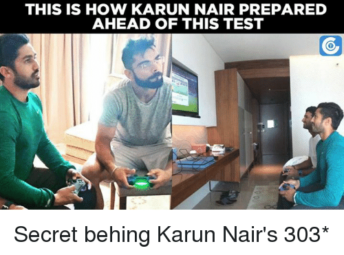 Karun Nair: THIS IS HOW KARUN NAIR PREPARED  AHEAD OF THIS TEST Secret behing Karun Nair's 303*