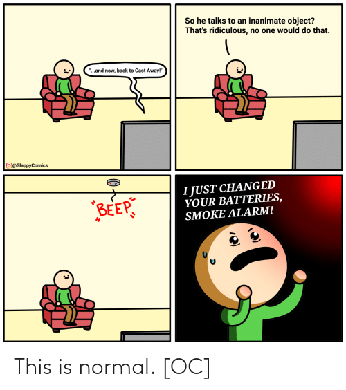 normal: This is normal. [OC]