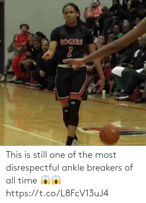 one of the most: This is still one of the most disrespectful ankle breakers of all time 😱😱 https://t.co/L8FcV13uJ4
