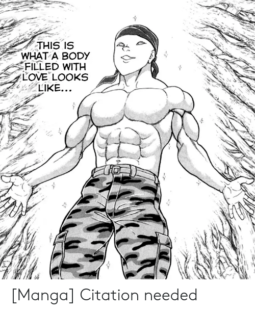 Love, Manga, and Citation: THIS IS  WHAT A BODY  FILLED WITH  LOVE LOOKS  LIKE... [Manga] Citation needed