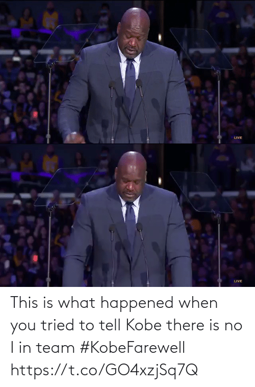 Kobe: This is what happened when you tried to tell Kobe there is no I in team #KobeFarewell  https://t.co/GO4xzjSq7Q