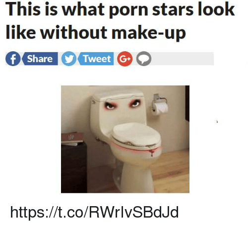 Porn Stars: This is what porn stars look  like without make-up  hare  Tweet 【G+ https://t.co/RWrIvSBdJd