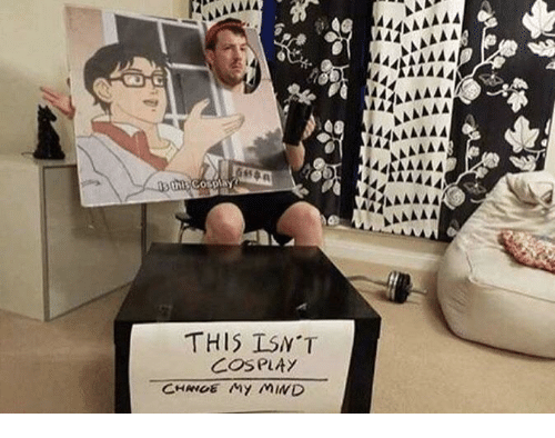 """Cosplay and This: THIS ISN""""T  COSPLAy"""