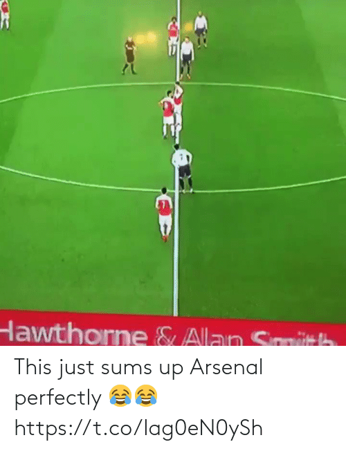 Arsenal: This just sums up Arsenal perfectly 😂😂 https://t.co/Iag0eN0ySh