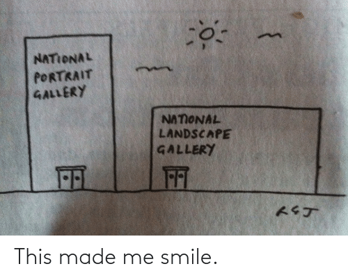 made: This made me smile.