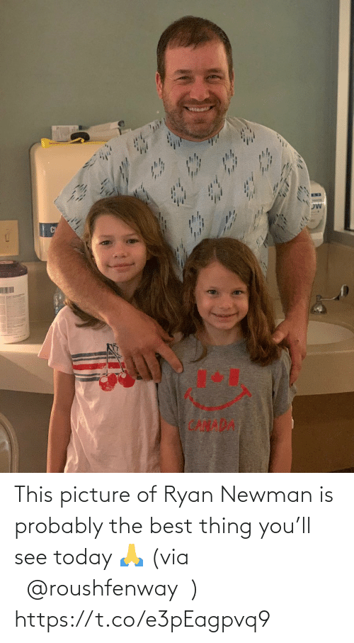 Newman: This picture of Ryan Newman is probably the best thing you'll see today 🙏 (via @roushfenway) https://t.co/e3pEagpvq9