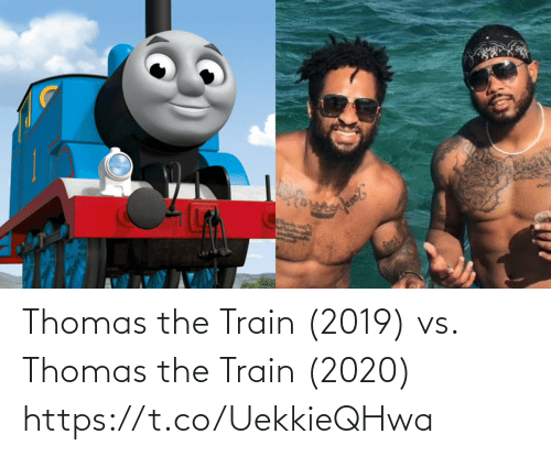 the train: Thomas the Train (2019) vs. Thomas the Train (2020) https://t.co/UekkieQHwa