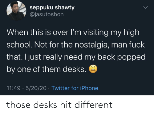 hit: those desks hit different