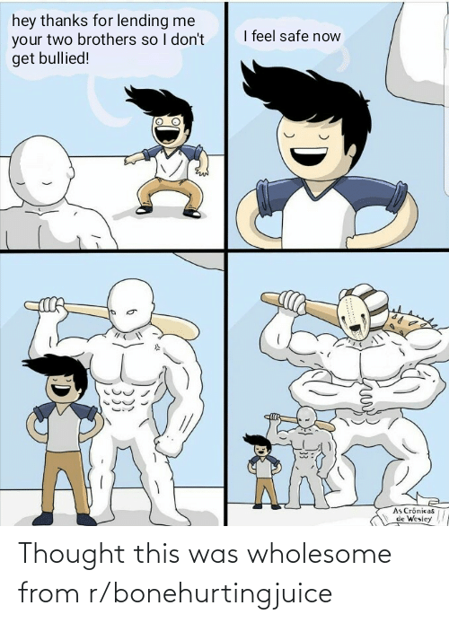 Wholesome: Thought this was wholesome from r/bonehurtingjuice