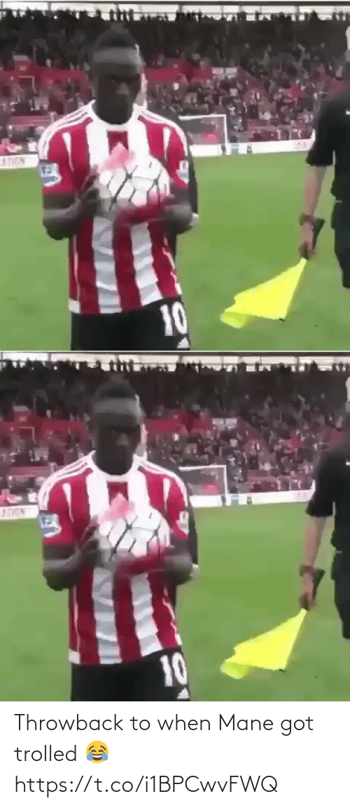 soccer: Throwback to when Mane got trolled 😂 https://t.co/i1BPCwvFWQ
