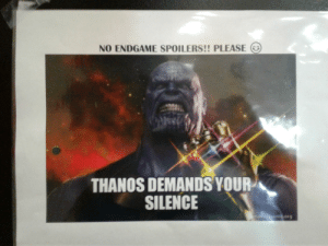Thanos Demands