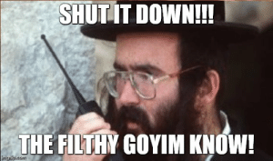 Da Goyim Know Meme