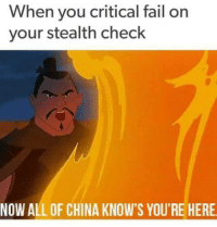 Now All Of China Knows Youre Here