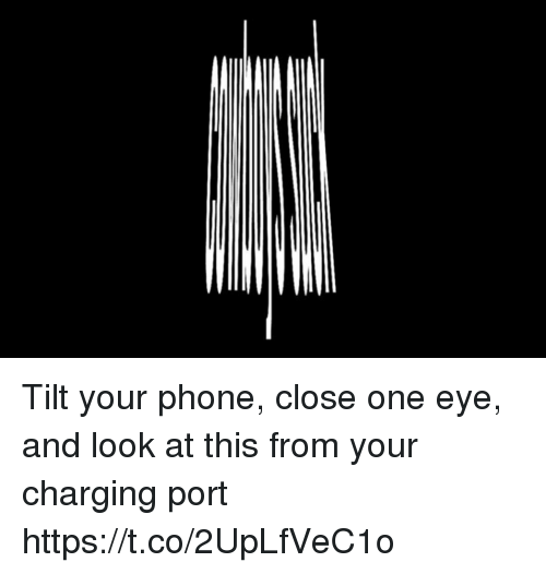 Football, Nfl, and Phone: Tilt your phone, close one eye, and look at this from your charging port https://t.co/2UpLfVeC1o
