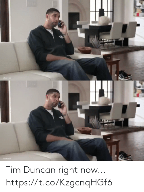 🤖: Tim Duncan right now... https://t.co/KzgcnqHGf6