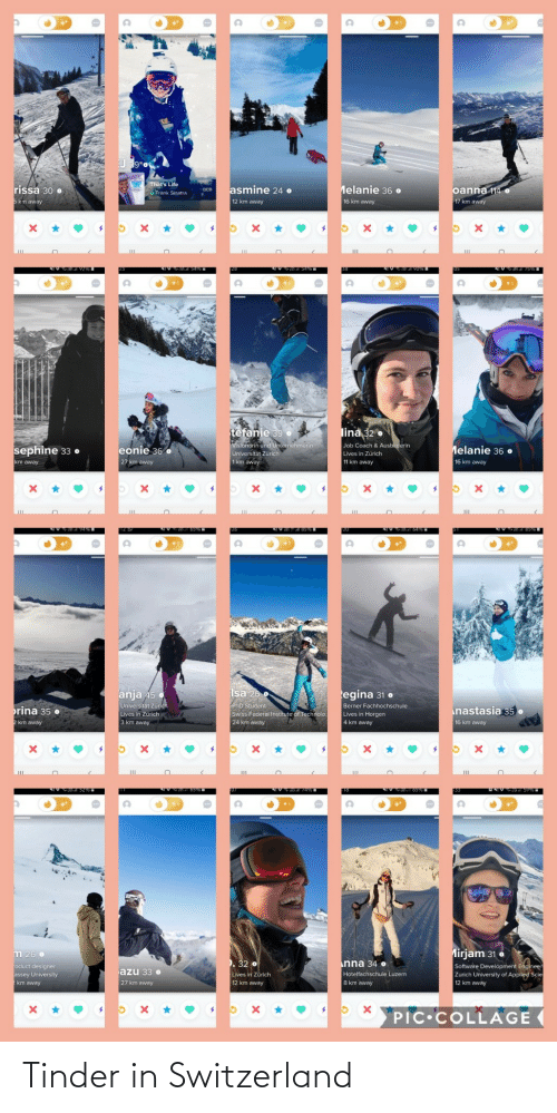 tinder: Tinder in Switzerland
