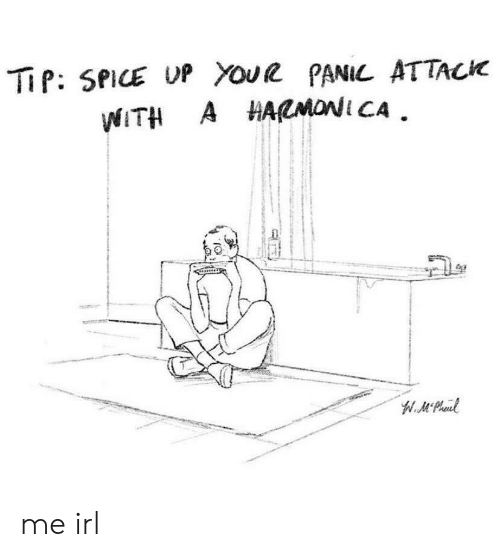 Spice Up: TiP: SPICE UP Youe PANIL ATTACK  WITH A HARMONI CA  W.MPheud me irl