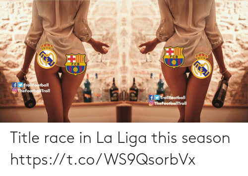 La: Title race in La Liga this season https://t.co/WS9QsorbVx