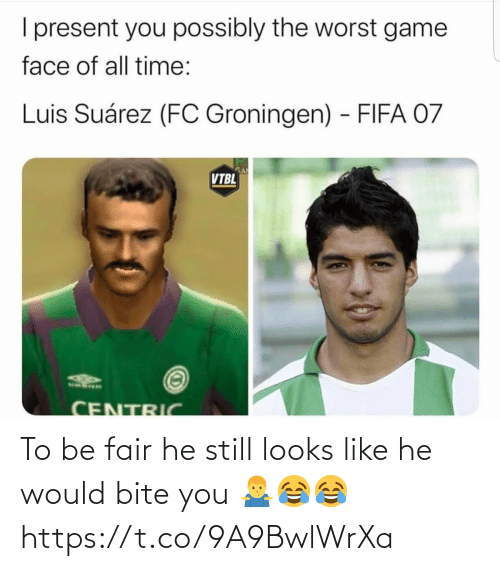 bite: To be fair he still looks like he would bite you 🤷♂️😂😂 https://t.co/9A9BwlWrXa