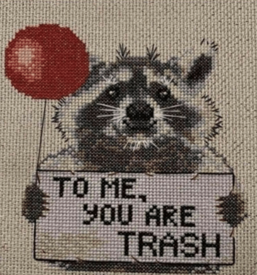 Trash, You, and Me You: TO ME  you ARE  TRASH