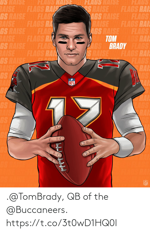 tombrady: .@TomBrady, QB of the @Buccaneers. https://t.co/3t0wD1HQ0l