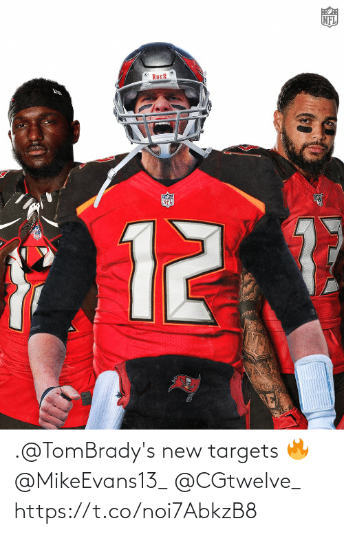 new: .@TomBrady's new targets 🔥@MikeEvans13_ @CGtwelve_ https://t.co/noi7AbkzB8