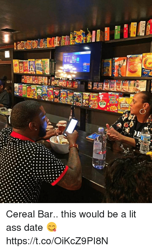 oas: Trix  French  Oas  Guna Cereal Bar.. this would be a lit ass date 😋 https://t.co/OiKcZ9PI8N
