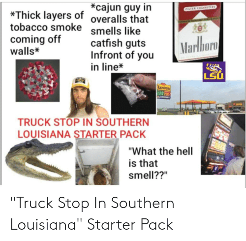 """Southern: """"Truck Stop In Southern Louisiana"""" Starter Pack"""