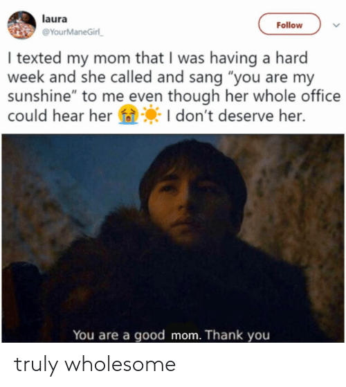 Truly: truly wholesome