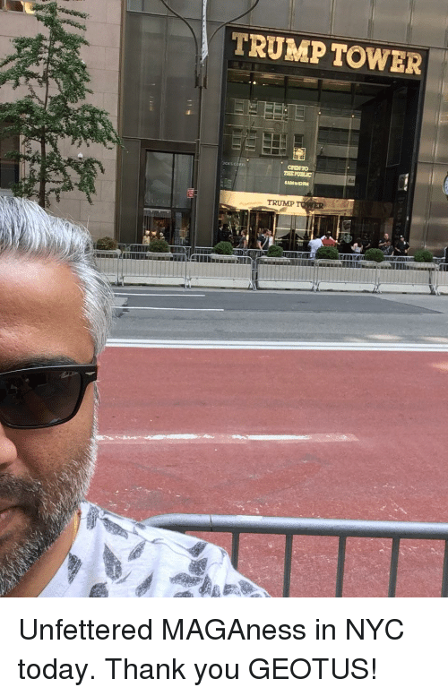 Thank You, Today, and Trump: TRUMP TOWER