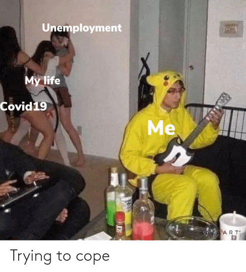 cope: Trying to cope