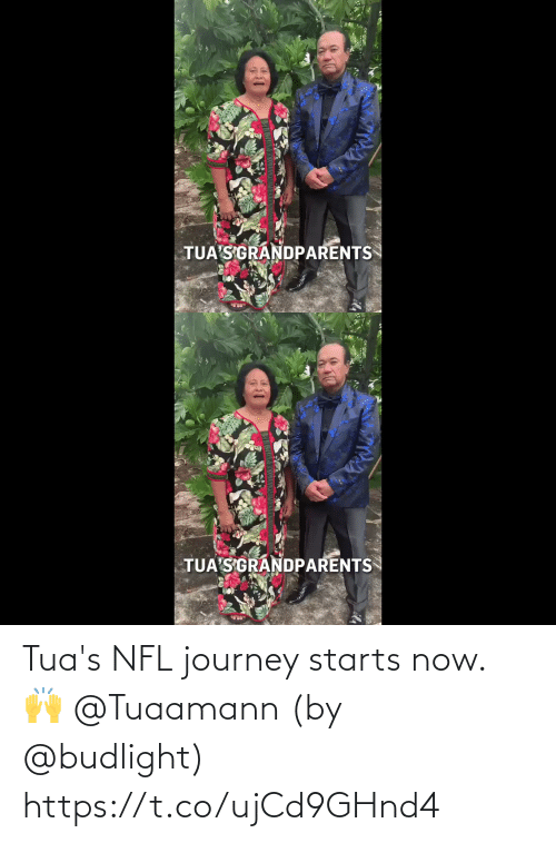 Starts: Tua's NFL journey starts now. 🙌 @Tuaamann  (by @budlight) https://t.co/ujCd9GHnd4