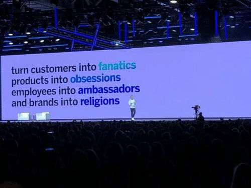 Fanatics: turn customers into fanatics  products into obsessions  employees into ambassadors  and brands into religions
