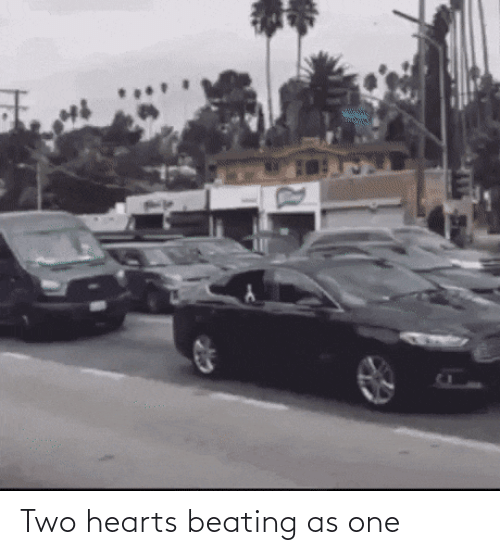beating: Two hearts beating as one