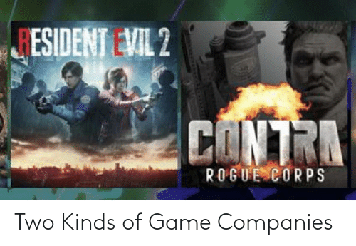 companies: Two Kinds of Game Companies