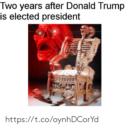 Donald Trump: Two years after Donald Trump  is elected president https://t.co/oynhDCorYd