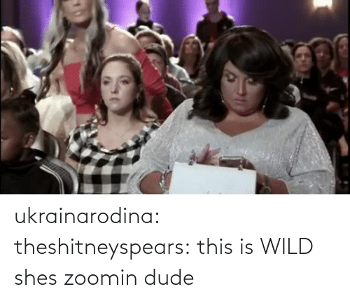 Wild: ukrainarodina:  theshitneyspears: this is WILD shes zoomin dude
